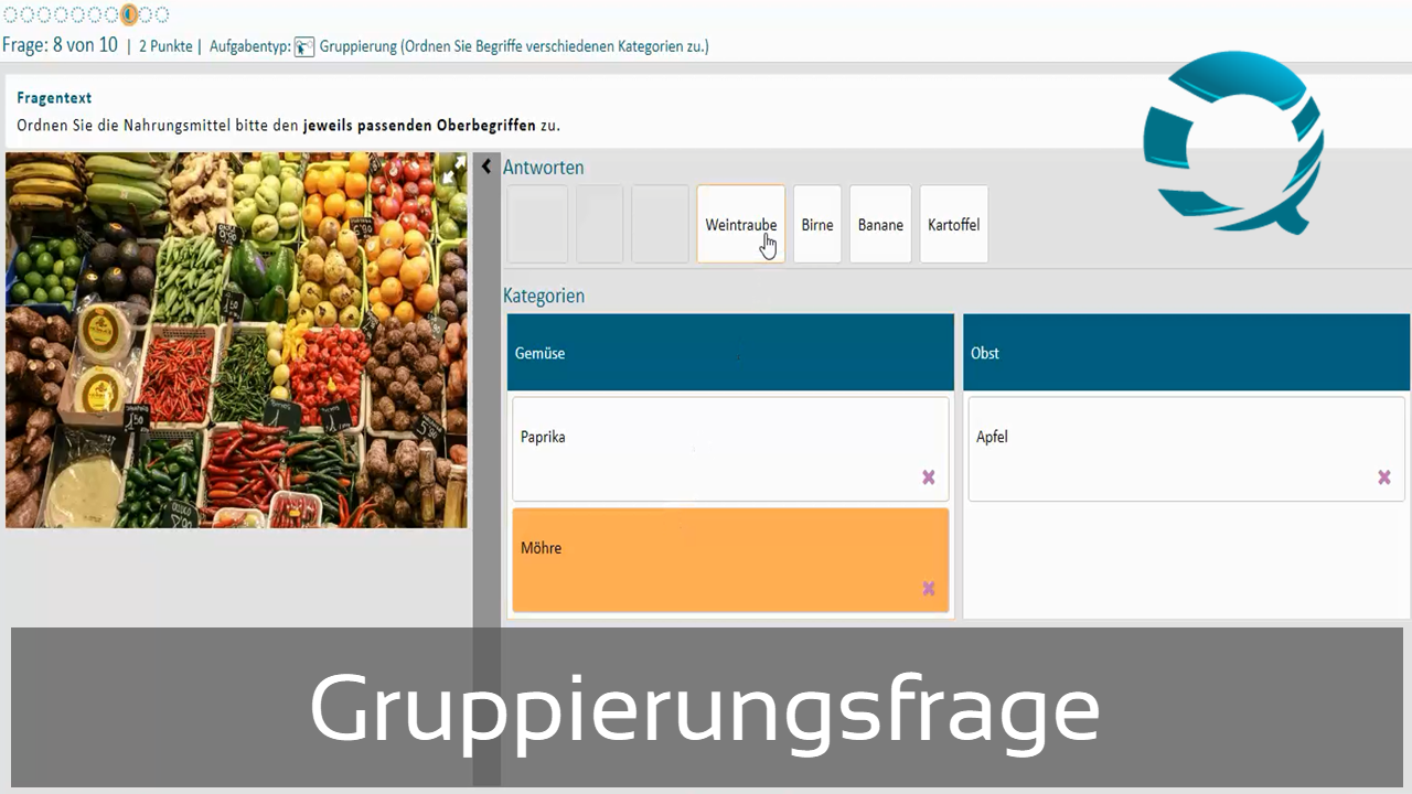 Gruppierungsfrage